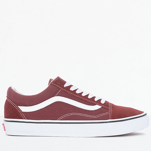 2db5e5806a Vans Old Skool Madder Brown   White Skate Shoes. M 5b9c126bde6f62acce2f752b